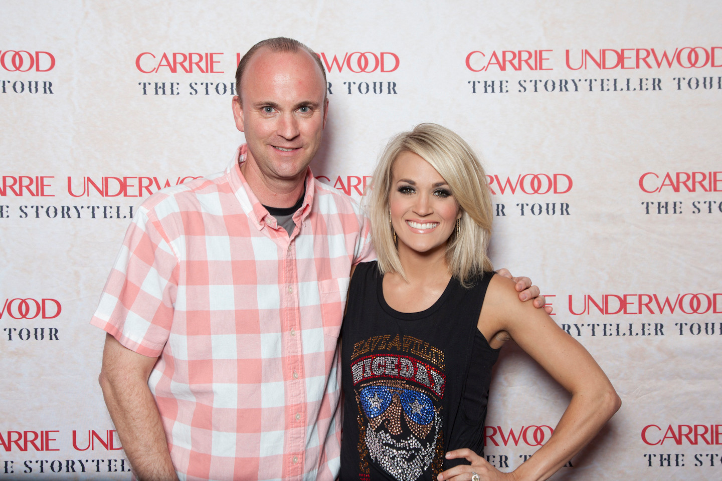 carrie underwood Dave Rogers Mobile Sound Productions